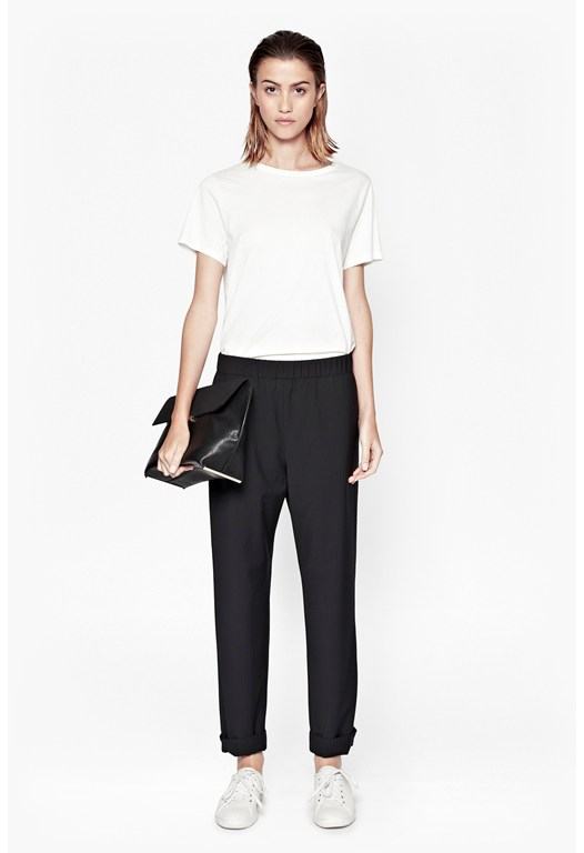Mimi Pinstriped Trousers