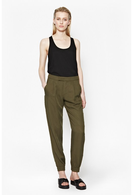 Basket Tencel Trousers