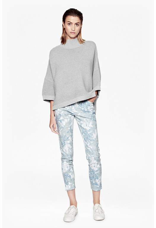 Flight Of Fancy Printed Jeans