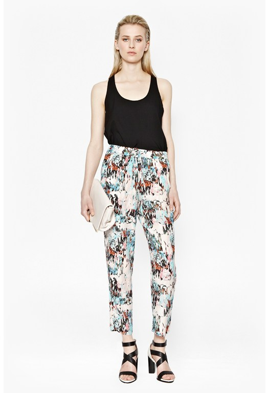 Isla Ripple Drape Trousers
