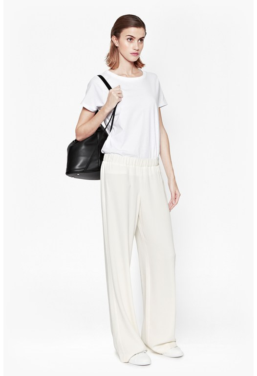 Cassie Drape Wide Leg Trousers