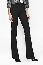 Looks Great With Glass Stretch Bootcut Trousers