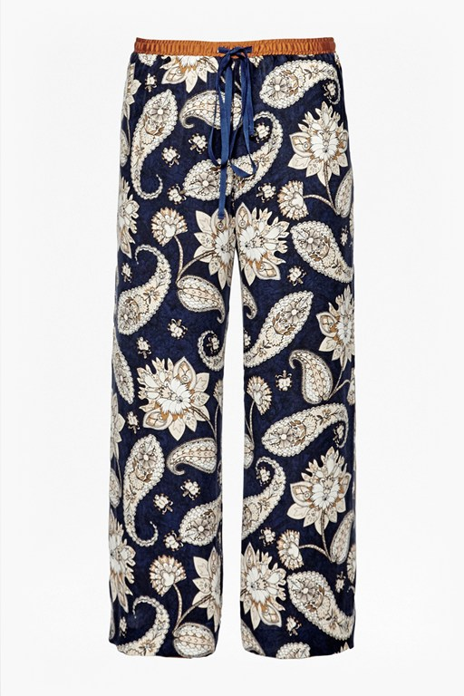 Complete the Look Sundown Silk Flared Trousers
