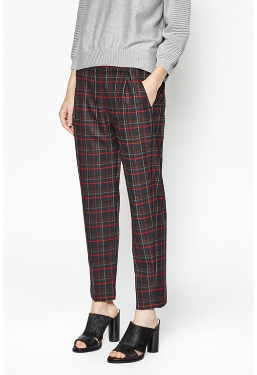 Soho Checked Trousers