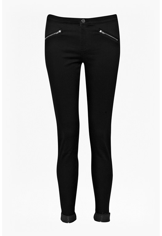 Platinum Skinny Turn Up Trousers