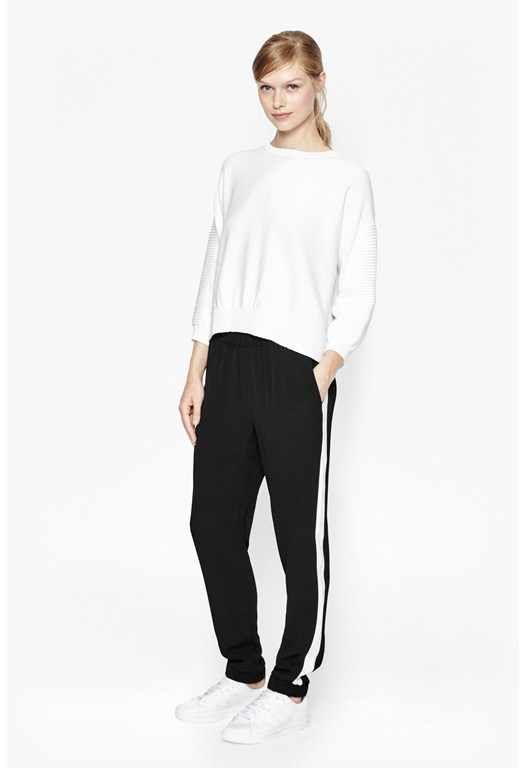 Darcy Drape Stripe Trousers