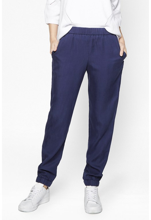 Cobalt Tencel Trousers