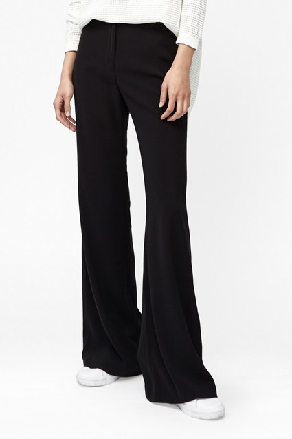 Freya Flared Jersey Trousers