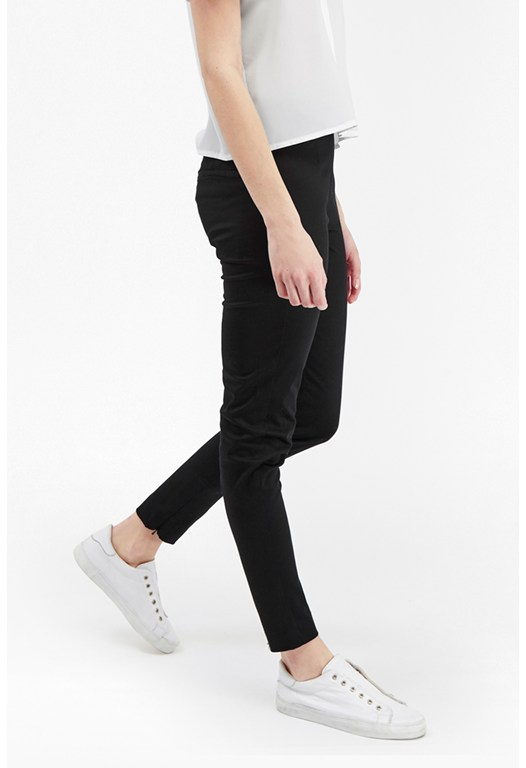 Electric Cotton Ankle Grazing Trousers