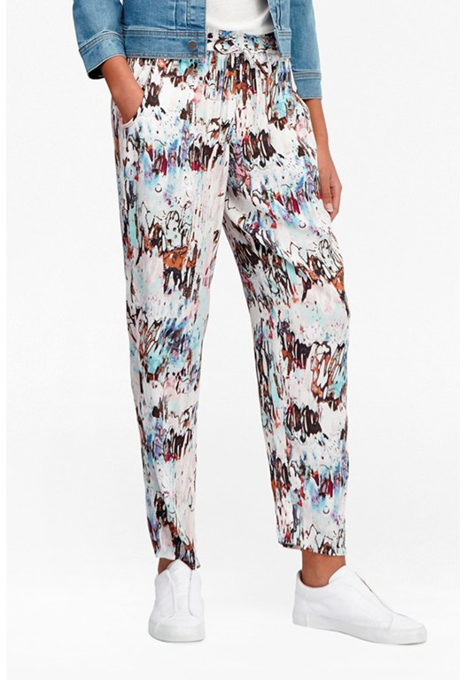 Isla Ripple Waist Tie Trousers