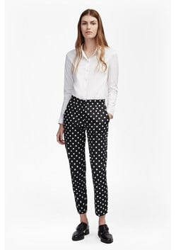 Dotty Spot Ankle Grazing Trousers