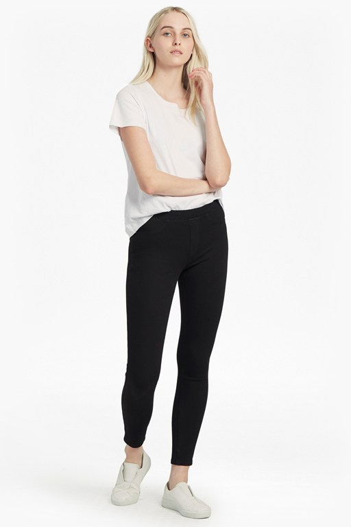 Four-Way Stretch Pull On Leggings