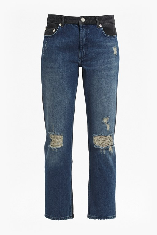 Complete the Look Indi Mash Up Boyfit Jeans