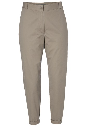 Cotton Twill Trouser Brown