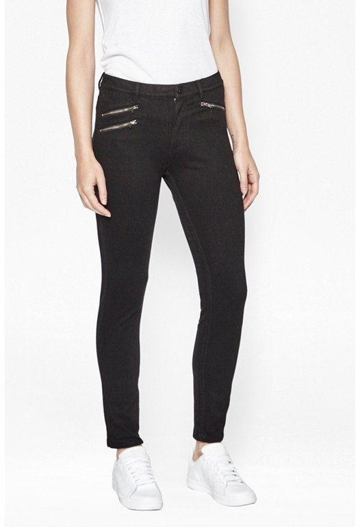 Lilly Denim Zip Skinny Jeans