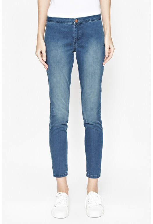 Second Skin Denim Leggings
