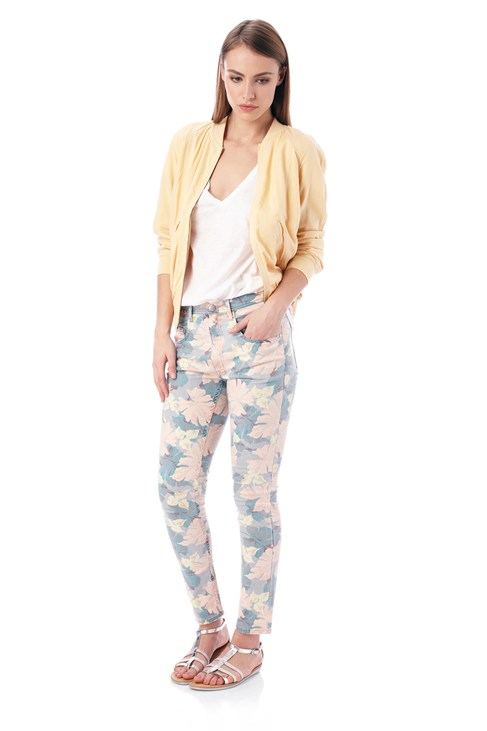 Jungle High-Waisted Jeans