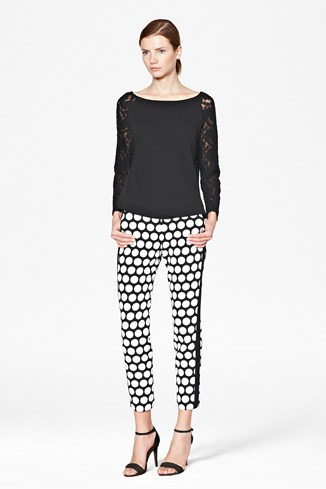 Poppy Dotty Trousers