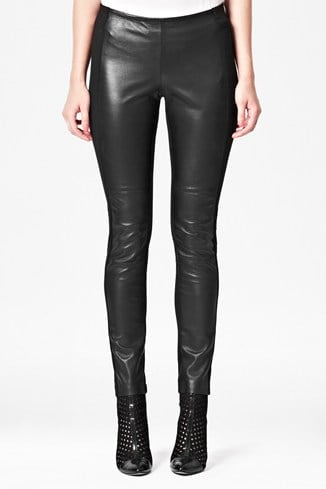 Megan Leather Biker Leggings