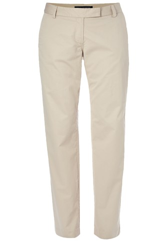 Delight Cotton Straight Trousers