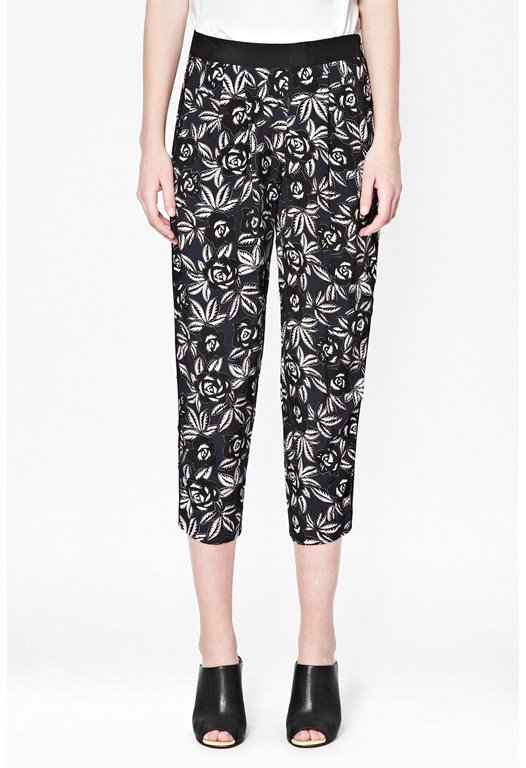Argan Rose Peg Leg Trousers