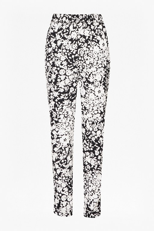 freida flower drape trousers