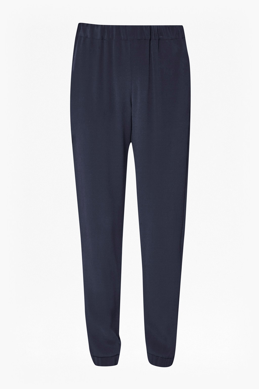 Darcy Drape Crepe Trousers - black