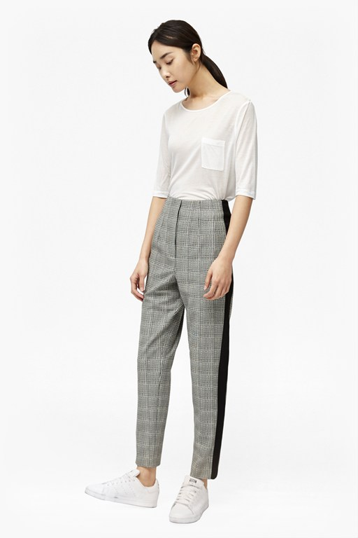 Complete the Look Empire Check Trousers