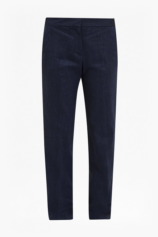 avenue suiting straight leg trousers