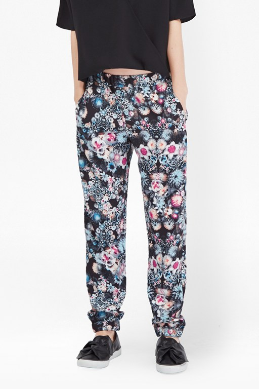 isola bloom woven joggers