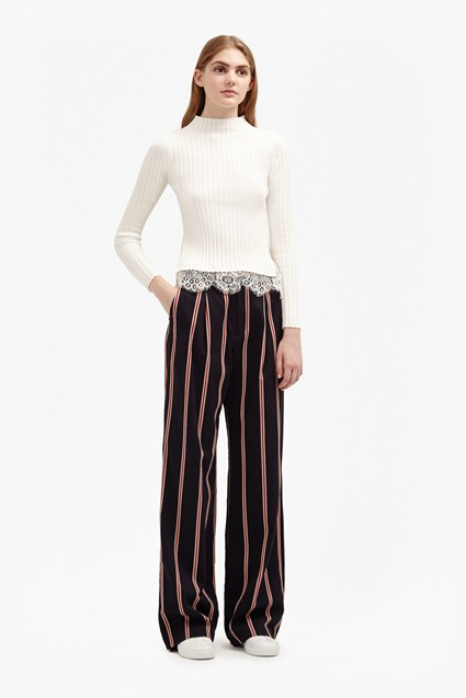 Freddy Stripe Coord Wide Leg Trousers