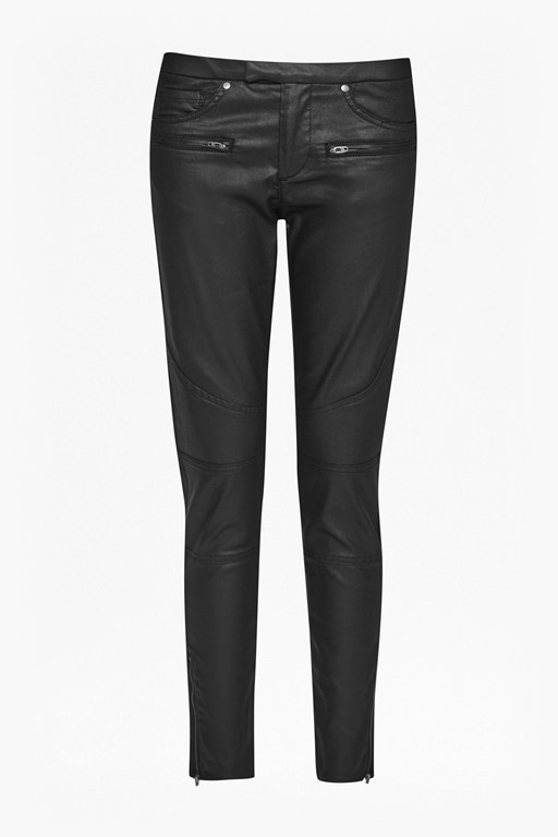 Complete the Look Skinny Leather Look Jeans