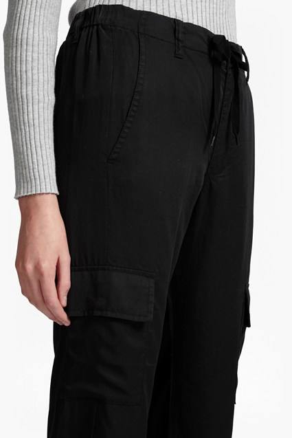 Military Tencel Tapered Trousers