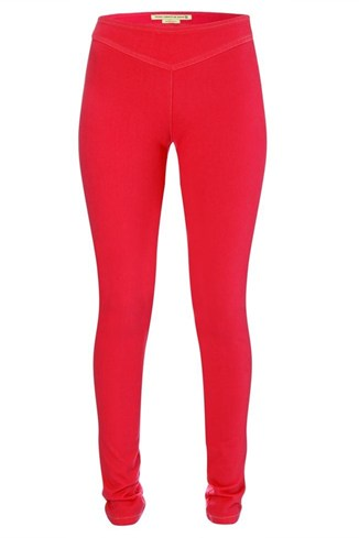 French Connection Stretch Leggings Red, Pink
