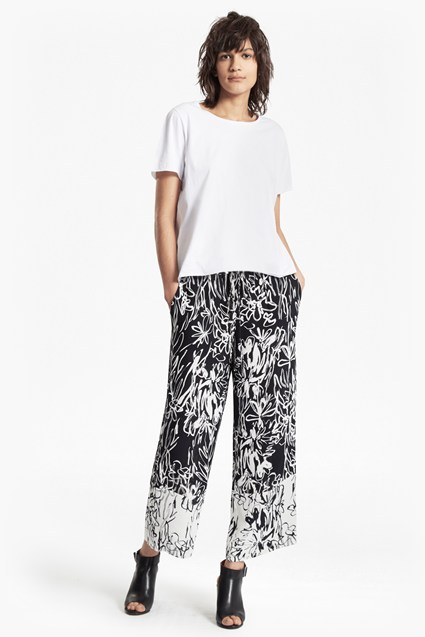 Copley Crepe Flared Trousers