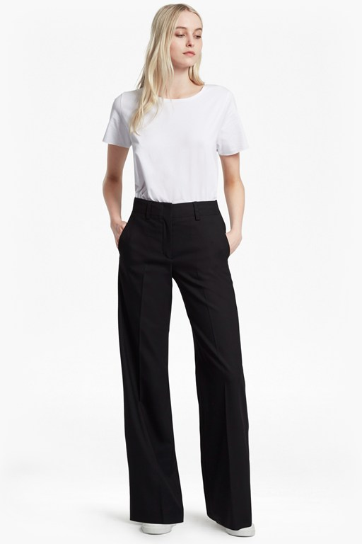 summer talulah straight leg trousers