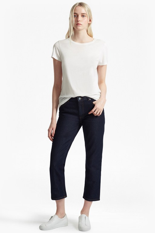 Complete the Look Boyfit Cropped Jeans