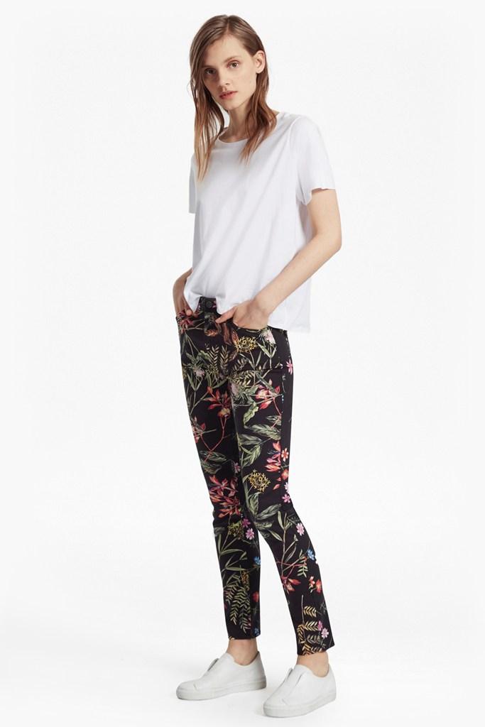 Bluhm Botero Denim Skinny Jean - black multi