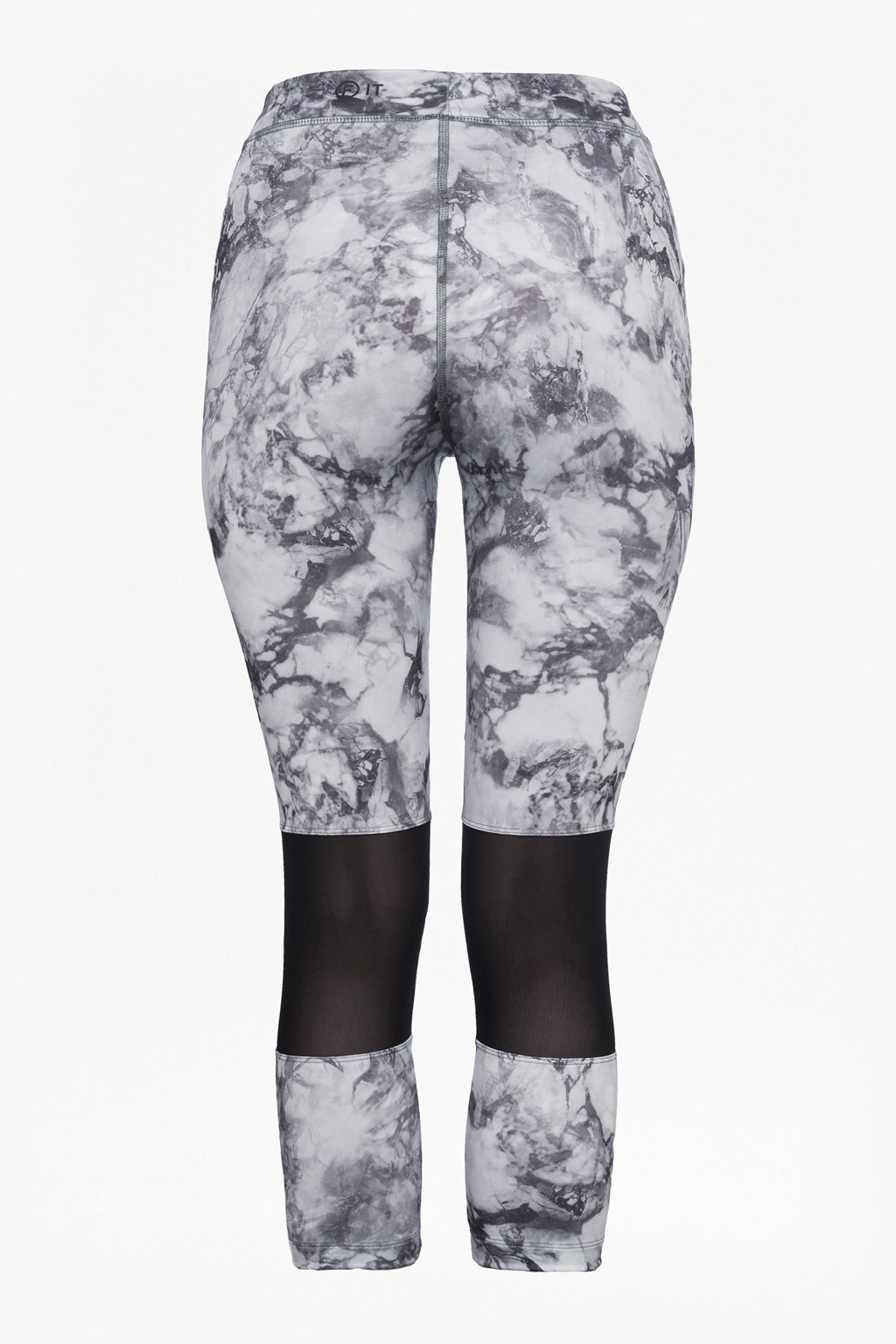 361e77386379c1 loading images... Comfort Stretch Marble Print Cropped Performance Leggings