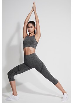 Moto Cross Seamless Cropped Leggings