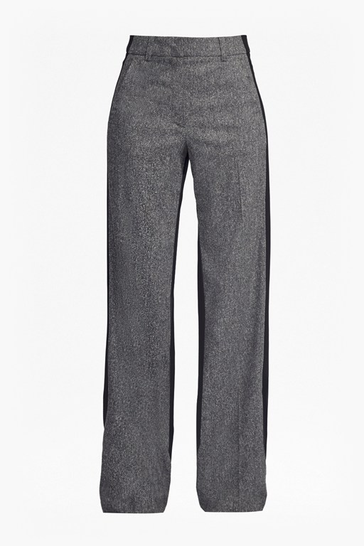 Complete the Look Antonia Wide Leg Tweed Trousers