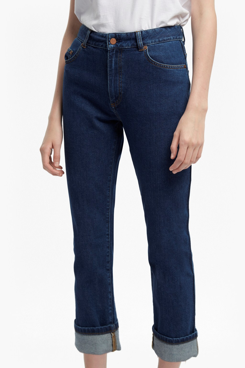 162a3b12d High Rise Straight Leg Jeans | Collections | French Connection
