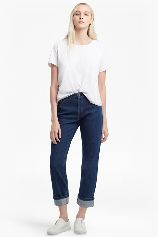 Complete the Look High Rise Straight Leg Jeans