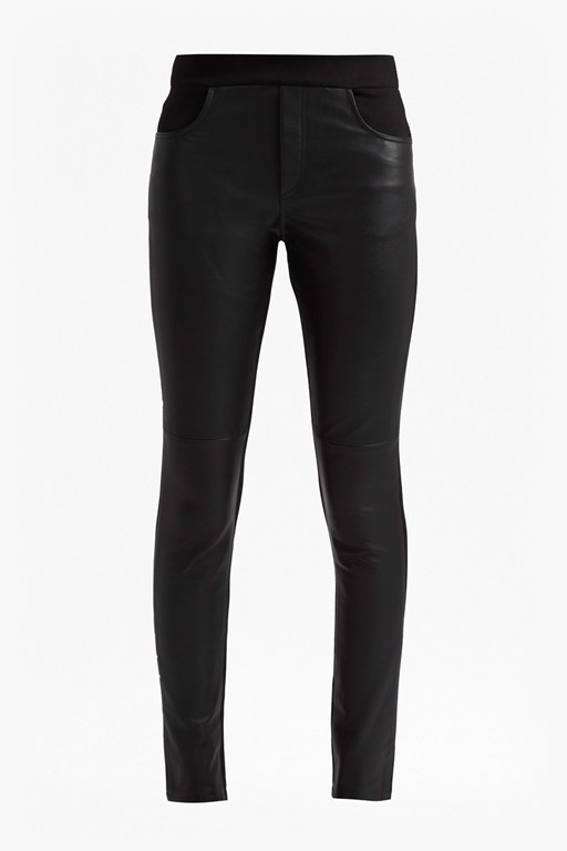 Complete the Look Leather Pull On Leggings