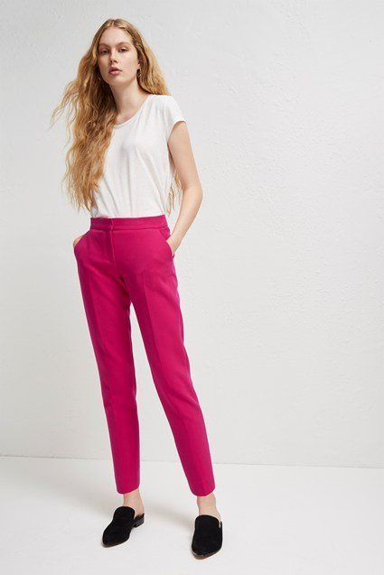 Sundae Pink Suit Trousers
