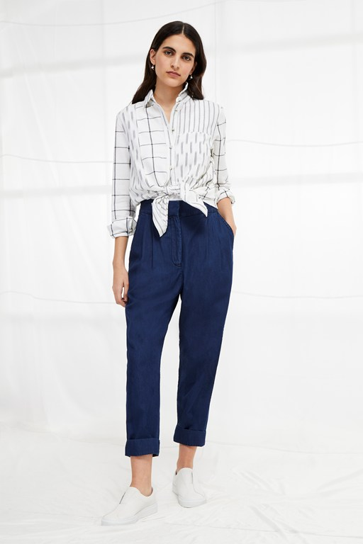 geada light high waisted trousers
