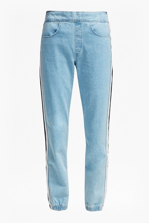 Complete the Look Theo Denim Track Pants