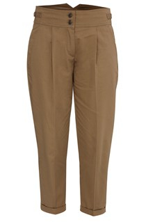 Nicole Cotton Slim Fit Trouser