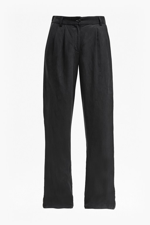 Complete the Look Caspia Linen Pleated Trousers