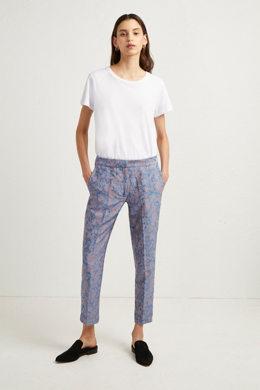 Complete the Look Ellette Jacquard Tailored Trousers